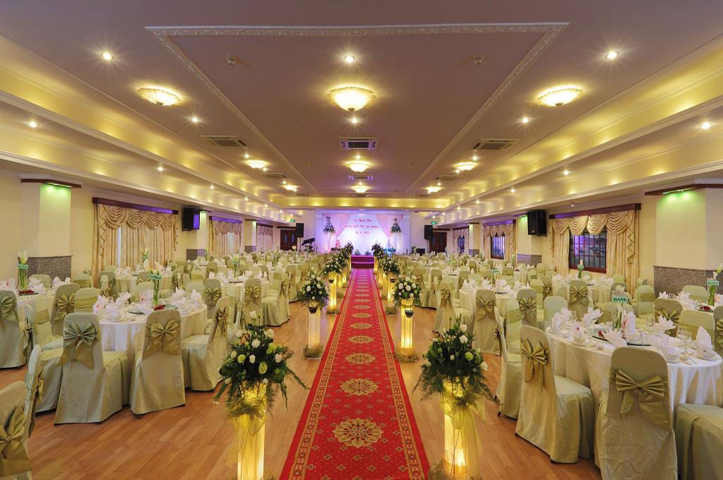 Tiệc cưới tại khách sạn Kim Đô